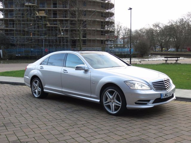 2012 12 MERCEDES-BENZ S CLASS 3.5 S350 BLUEEFFICIENCY L 4d AUTO 306 BHP