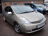 2008 TOYOTA PRIUS 1.5 T SPIRIT VVT-I 5d AUTO 77 BHP £3780.00