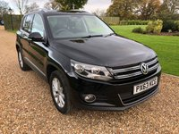 2013 VOLKSWAGEN TIGUAN 2.0 SE TDI BLUEMOTION TECHNOLOGY 4MOTION 5d 138 BHP £14000.00