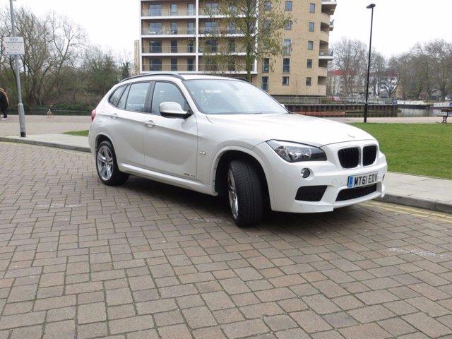 2011 61 BMW X1 2.0 XDRIVE20D M SPORT 5d AUTO 174 BHP