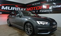 2016 AUDI A4 2.0 TDI S LINE 4DOOR *BLACK EDITION STYLING* £19995.00