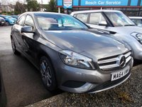 2014 MERCEDES-BENZ A CLASS 1.5 A180 CDI BLUEEFFICIENCY SPORT 5d 109 BHP £13495.00
