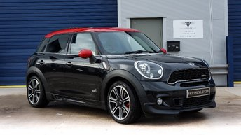 2013 MINI COUNTRYMAN 1.6 John Cooper Works (Chili) ALL4 5dr (start/stop) £SOLD