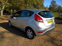 USED 2010 60 FORD FIESTA 1.2 EDGE 5d 81 BHP Full Ford Service History, Aux Port