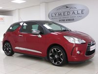 USED 2013 13 CITROEN DS3 1.6 DSTYLE PLUS 3d 120 BHP Great Car With Full Service History, MOT 11.9.2018