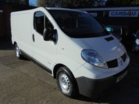 USED 2012 12 RENAULT TRAFIC 2.0 SL29 DCI S/R 5d 115 BHP