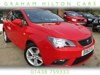 USED 2013 63 SEAT IBIZA 1.4 TOCA 3d 85 BHP LOW RATE FINANCE AVAILABLE, SAT NAV, ALLOYS, AIR CON, SERVICE HISTORY, SPARE KEY