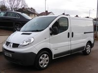USED 2014 14 RENAULT TRAFIC 2.0 SL27 DCI S/R P/V EXTRA 1d 115 BHP Don't Miss This,1 Owner, Full Dealer History, Sat Nav