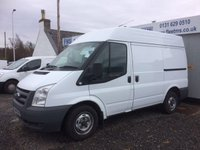 USED 2011 11 FORD TRANSIT 260 SWB 2.2