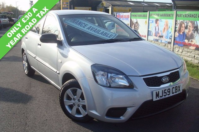 2009 59 KIA RIO 1.5 1 CDRI 5d 109 BHP FACE LIFT MODEL