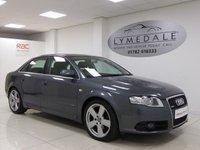 USED 2007 57 AUDI A4 2.0 TDI S LINE TDV 4d AUTO 140 BHP Superb Condition, Full 12 Months MOT, Sat Nav, DVD
