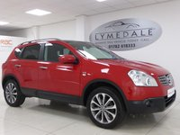 USED 2009 59 NISSAN QASHQAI 1.6 N-TEC 5d 113 BHP Pan Roof, Sat Nav, Full Dealer History, 1 Owner From New