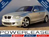 USED 2006 56 BMW 1 SERIES 2.0 120D M SPORT 5d 161 BHP BLACK FRIDAY WEEKEND EVENT, P/SENSORS CRUISE CONTROL