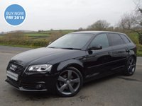 USED 2012 12 AUDI A3 2.0 TDI BLACK EDITION 5d 170 BHP **VEHICLE AT OUR UGBOROUGH  BRANCH**