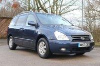 2008 KIA SEDONA PILOT 2.9 LS 5d AUTO  183 BHP  £6450.00