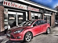 USED 2012 03 FORD FOCUS 1.6 ZETEC 5d 104 BHP