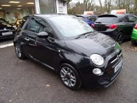 USED 2013 63 FIAT 500 1.2 S 3d 69 BHP Low Mileage, One Owner, MOT until November 2018, Just Serviced by ourselves, Great on fuel economy! Only £30 Road Tax!