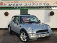 USED 2004 04 MINI HATCH ONE 1.6 ONE 3d 89 BHP PX BARGAIN, MOT UNTIL JUNE 2018