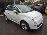 USED 2014 64 FIAT 500 1.2 LOUNGE 3d 69 BHP Low Mileage, One Owner from new, Just Serviced by ourselves, NEW MOT (minimum 9 months), Great on fuel! Only £30 Road Tax!