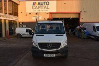 USED 2014 14 MERCEDES-BENZ SPRINTER 2.1 313 CDI LWB 2d 129 BHP RWD S/CAB DIESEL MANUAL DROPSIDE LORRY  ONE OWNER S/H SPARE KEY