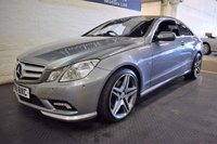 USED 2009 59 MERCEDES-BENZ E CLASS 3.0 E350 CDI BLUEEFFICIENCY SPORT 2d AUTO 231 BHP BEAUTIFUL CAR - 6 SERVICE STAMPS TO 95K - HUGE SPEC