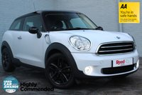 USED 2015 15 MINI PACEMAN 1.6 COOPER 3d 122 BHP 1 LADY OWNER+FULL MINI HISTORY