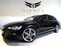 USED 2015 65 AUDI A6 3.0 AVANT TDI S LINE BLACK EDITION 5d AUTO 215 BHP