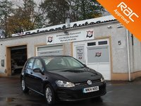 USED 2014 14 VOLKSWAGEN GOLF 1.6 BLUEMOTION TDI 5d 108 BHP Bluetooth, Front & Rear Parking Sensors , Hill Hold ,Touch screen