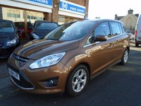 USED 2014 64 FORD GRAND C-MAX 2.0 GRAND ZETEC TDCI 5d AUTO 138 BHP