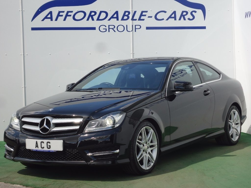 2014 mercedes benz c class 2 1cdi c220 cdi amg sport plus coupe 2d 7g tronic used cars in crockey hill yorkshire and the humber yo19 4sh