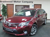 USED 2013 63 TOYOTA AVENSIS 2.0 D-4D ICON PLUS 5d 124 BHP