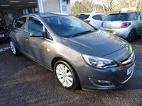 USED 2013 13 VAUXHALL ASTRA 1.6 SE 5d 113 BHP Full Service History + Just Serviced by ourselves, One Previous Owner, MOT until May 2018