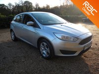 USED 2015 15 FORD FOCUS 1.6 STYLE 5d 104 BHP Bluetooth Hands-free, DAB Radio , Good MPG . Big Boot Space