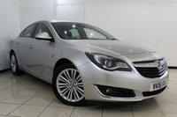 USED 2016 16 VAUXHALL INSIGNIA 1.6 SE CDTI ECOFLEX S/S 5DR 134 BHP HALF LEATHER SEATS + BLUETOOTH + CRUISE CONTROL + MULTI FUNCTION WHEEL + CLIMATE CONTROL + AUXILIARY PORT + 17 INCH ALLOY WHEELS