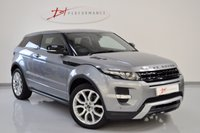 USED 2011 61 LAND ROVER RANGE ROVER EVOQUE 2.2 SD4 DYNAMIC 3d AUTO 190 BHP SVR BUCKET SEATS GREAT SPECIFICATION