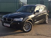 USED 2012 62 BMW X3 2.0 XDRIVE20D SE 5d AUTO 181 BHP PAN ROOF SAT NAV LEATHER ONE OWNER NO FINANCE REPAYMENTS FOR 2 MONTHS STC. 4WD. PANORAMIC SUNROOF. SATELLITE NAVIGATION. STUNNING BLACK MET WITH FULL BEIGE LEATHER TRIM. CRUISE CONTROL. 17 INCH ALLOYS. COLOUR CODED TRIMS. PARKING SENSORS. ELECTRIC TAILGATE. CLIMATE CONTROL. R/CD PLAYER. MFSW. MOT 11/18. ONE OWNER FROM NEW. SERVICE HISTORY. FCA FINANCE APPROVED DEALER. TEL 01937 849492