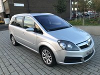 USED 2009 09 VAUXHALL ZAFIRA 1.6 ACTIVE PLUS 5d 105 BHP