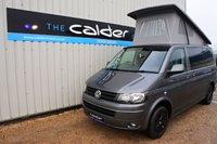 USED 2015 15 VOLKSWAGEN TRANSPORTER 2.0 T28 VW TDI HIGHLINE RARE AUTOMATIC GEARBOX 139 BHP, SELDOM SEEN TAILGATE VERSION WITH TWIN SINGLE FRONT SEATS AND AIRCON - EVERY CONVERTED CAMPERVAN COMES WITH OUR 3 YEAR MECHANICAL AND INTERIOR WARRANTY