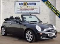 USED 2005 55 MINI CONVERTIBLE 1.6 ONE 2d 89 BHP Dealer History Reverse Sensors 0% Deposit Finance Available