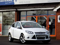USED 2013 63 FORD FOCUS 1.6 TDCi ZETEC NAVIGATOR 5dr  *ONLY 9.9% APR with FREE Servicing*