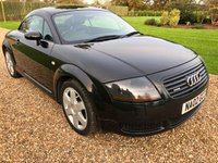 USED 2002 02 AUDI TT 1.8 QUATTRO 3d 221 BHP HEATED LEATHER