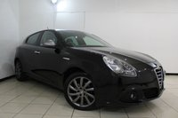 USED 2013 63 ALFA ROMEO GIULIETTA 1.6 JTDM-2 COLLEZIONE SPECIAL EDITION 5DR 105 BHP AIR CONDITIONING + MULTI FUNCTION WHEEL + AUXILIARY PORT + RADIO/CD + 17 INCH ALLOY WHEELS