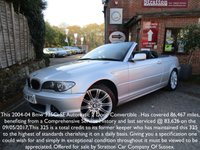 2004 BMW 3 SERIES 2.5 325CI SE 2d 190 BHP £4295.00