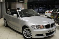 USED 2011 60 BMW 1 SERIES 2.0 118I M SPORT 2d 141 BHP FULL BMW SERVICE HISTORY + BLACK CLOTH SEATS + REAR PARKING SENSORS + AUTOMATIC AIR CONDITIONING + 17 INCH ALLOYS + SPORT FRONT SEATS