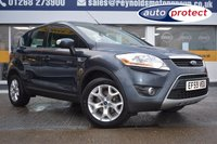 USED 2010 59 FORD KUGA 2.0 ZETEC TDCI 2WD 5d 134 BHP THE CAR FINANCE SPECIALIST