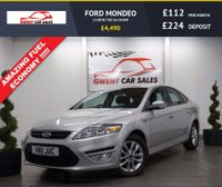 USED 2011 11 FORD MONDEO 2.0 ZETEC TDCI 5d 138 BHP SERVICE HISTORY, CLEAN EXAMPLE