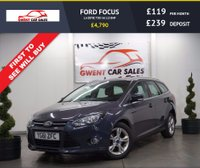 USED 2011 61 FORD FOCUS 1.6 ZETEC TDCI 5d 113 BHP LOW ROAD TAX,, BLUETOOTH,, ECONOMICAL