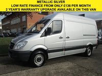 USED 2011 60 MERCEDES-BENZ SPRINTER 2.1 313CDI MWB HIGH ROOF 129BHP. METALLIC SILVER. RARE VAN PARKING SENSORS. LOW RATE FINANCE. PX WELCOME
