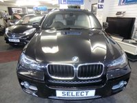 "USED 2012 12 BMW X6 3.0 XDRIVE30D 4d AUTO 241 BHP Immaculate example in black with full cream leather,20""alloys,Sat Nav,Blue tooth,OBC-1 Owner with Full BMW Service History-74,000 miles -fine example -please ring for more details"