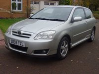 2005 TOYOTA COROLLA 1.4 COLOUR COLLECTION VVT-I 3d 92 BHP £2000.00